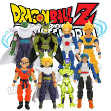 8Pcs Dragon Ball Z Joint Movable Action Figure DBZ Goku Trunks Piccolo Anime Toy