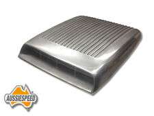 Ford Falcon Mustang GT Bolt on polished shaker repo alloy bonnet scoop Aluminum