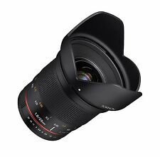 Rokinon 20mm F1.8 AS ED UMC Wide Angle Lens for Sony E-Mount - RK20M-E