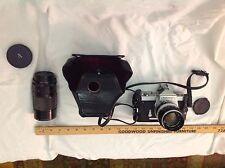 Nikomat Camera with 2 Lenses (Nikkor-S Auto 1:1.4, Kiron Macro 1:4 35-135mm).