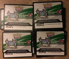 Pokémon 75 Roaring Skies TCG CY Online Booster Code Cards (Unused)Mail Delivery
