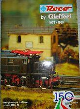 Catalogo del 1973 e fino al 1989 ROCO di tutta la produzione italiana