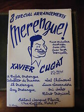 Partition 8 Speciall Arrangements Merengue Xavier Cugat Accordéon Trompette...