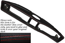 RED STITCHING FITS TRIUMPH STAG MK1 MK2 DASH DASHBOARD LEATHER SKIN COVER ONLY