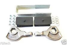 "DAKOTA 1987-2004 LIFT KIT 1-3"" FORGED TORSION KEY 3.5"" STEEL BLOCK SHOCK EXT 4WD"