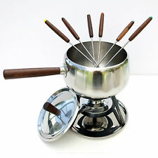 Vintage Retro 1970s Japanese Radmore Fondue Pot Pan Party Set