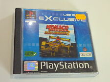 SONY PS1 /// MONACO GRAND PRIX RACING SIMULATION 2 Complet ! FR