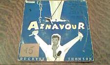 45 tours charles aznavour jean leccia et son orchestre on ne sait jamais