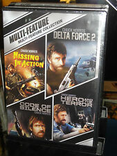 Missing In Action / Delta Force 2 / Code Of Silence / Hero And The Terror (DVD)