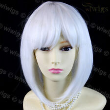 Cosplay Snow White Bob Style Short Ladies Wigs skin top hair from WIWIGS UK