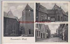 (95474) AK Everswinkel, Kirche, Vitusstraße, Gemischtwaren W.Böcker, 1952