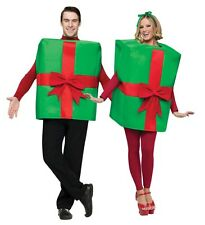Unisex Adult Funny Christmas Happy Bday Present Gift Box Costume Outfit