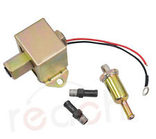 Universal Electric Fuel Pump Metal Solid Diesel or Petro 4-6 PSI EP014 12V