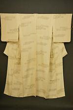 kissako 10826 Japanese Kimono Dress VTG Robe for women Old Fashion Silk