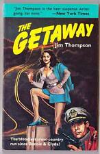 THE GETAWAY by Jim Thompson - 1984 Black Lizard paperback - Barry Gifford intro