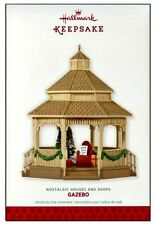 2013 Hallmark Nostalgic Houses and Shops Gazebo Limited Quantity Ornament!