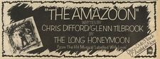 16/4/83PN16 ADVERT: THE LONG HONEYMOON THE AMAZO0N FROM LABELLED WITH LOVE