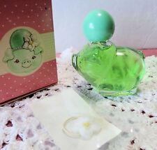 Vintage Avon Pretty Piglet Green Decanter 0.75 oz Hawaiian Ginger Cologne & Box