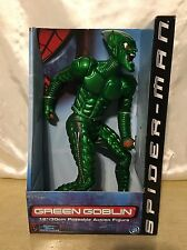 NEW - Green Goblin 12in. Poseable Action Figure - Spider-Man Movie - ToyBiz 2001