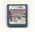 Nintendo Pokemon Platinum Version Game Card for 3DS NDSI DSI DS