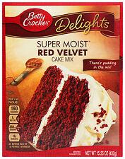 Betty Crocker Super Moist Red Velvet Cake Mix