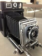 The Busch Pressman Model C with a Graflex 23 GRAPHIC 120 Roll Film Back