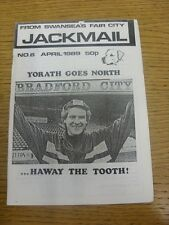 Apr-1989 Fanzine: Swansea City - From Swansea's Fair City Jackmail - No 07 [Inco