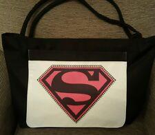 Supergirl Nuevo. playa/Tote/Bolso de compras.. gran bolsillo frontal.. ideal Regalo De Navidad