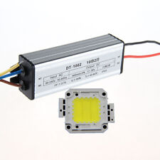 20W White LED Light Lamp Panel & 20W AC95-240V Waterpoof High Power LED Driver