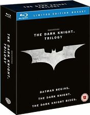 DARK KNIGHT Trilogy Complete Bluray Collection Boxset BATMAN BEGINS RISES 1 2 3