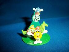 M&M's Swinging Boat/Basket YELLOW Figure CARNIVAL FAIR RIDE Pocket Surprise M&Ms