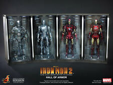 Hot Toys Iron Man 2 Sixth Scale Figure Environment Hall of Armor (Set of Four)