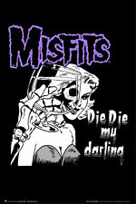 MISFITS - DIE DIE MY DARLING POSTER - 24x36 MUSIC BAND 4055