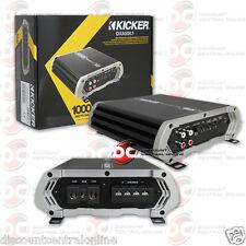 KICKER 41DXA500.1 CAR AUDIO 1 CHANNEL MONOBLOCK AMP AMPLIFIER 500W RMS 41DXA5001