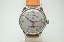 SHTURMANSKIE NAVIGATOR PILOT GAGARIN SPACE WATCH SOVIET 17 STOP FUNCTION VINTAGE