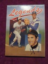 GAYLORD PERRY &  FERGUSON JENKINS HOF BASEBALL SIGNED LEGENDS MAG COVER WITH COA