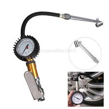 CAR TRUCK TYRE TIRE AUTO AIR INFLATOR DIAL PRESSURE METER GAUGE COMPRESSOR TOOL