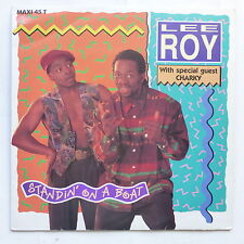 "MAXI 12"" LEE ROY With CHARKY Standin on a boat OTB 1303 6"