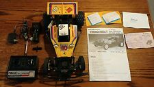 1/10 VINTAGE RC THUNDERBOLT OFF-ROAD Tested NIKKO W/BOX Free ship Yellow works