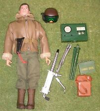 VINTAGE ORIGINAL LOOSE ACTION MAN ARMOURED CAR COMMANDER  - GI JOE