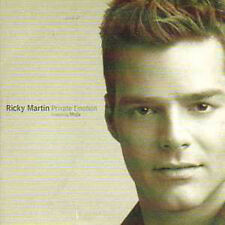 CD Single Ricky MARTIN / Les RITA MITSOUKO Private emotion