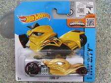 Hot Wheels 2015 #034/250 TOMB UP Golden yellow HW CITY CASE E