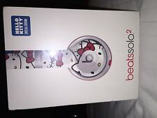 New HELLO KITTY Special Edition Headphones Beats by Dr. Dre Solo2 SEALED