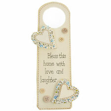 Wall Hanging Decorative Landon Tyler Family Home Door Hanger Heart Love Quote