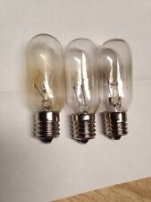3 GE General Electric Microwave Oven Light Bulbs WB36X10003 ( 3 pack )_