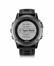 Garmin fenix 3 Gray with Black Band GPS Outdoor Navigation Watch 010-01338-00