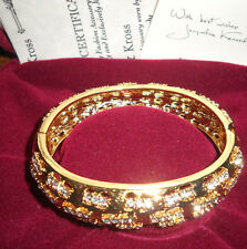 Camrose & Kross Jacqueline Kennedy Dashes Bangle Bracelet