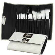 Makeup Brush Set from Nanshy - Luxury Brush Set with Elegant Brush Bag