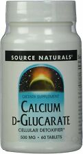 Calcium D-Glucarate, Source Naturals, 60 tablet
