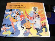 10 Inch TELEFUNKEN German LP FRANZ LEHAR The Czarevitch LAND OF SMILES Berlin Or